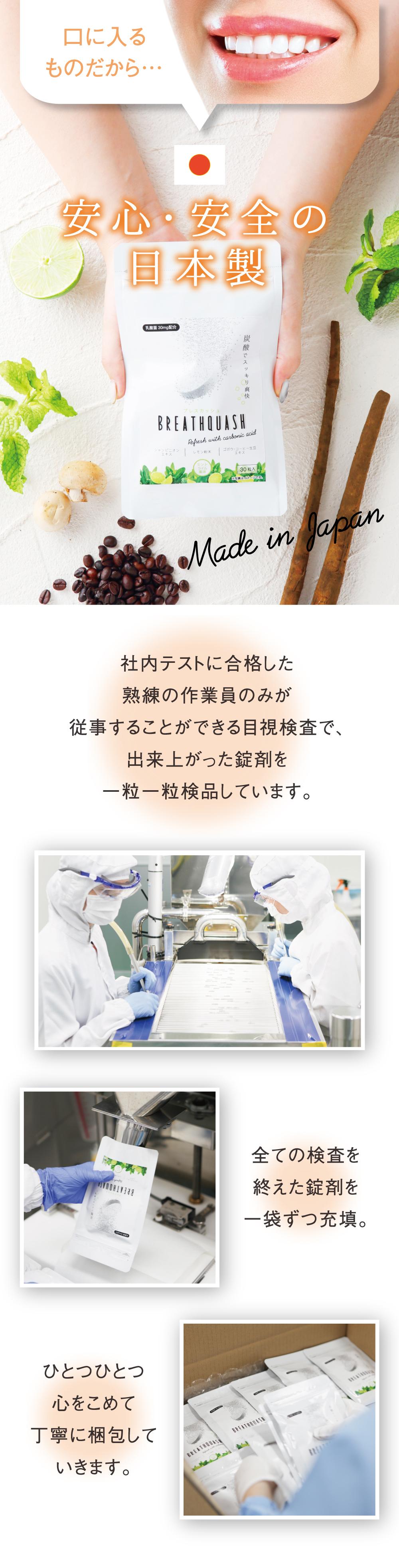 【公式】炭酸タブレット ブレスカッシュ