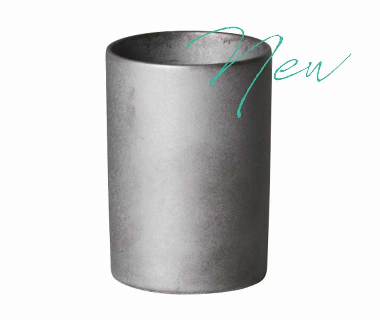 時間を止める瓦の花器karen