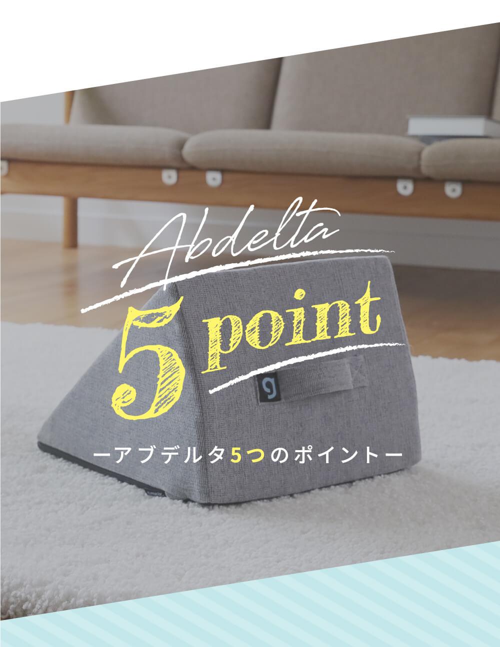 アブデルタ5つのポイント