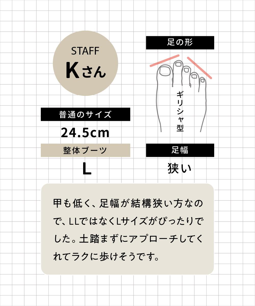 staffのKさん
